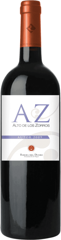 Kostenloser Versand | Rotwein Solterra Alto de los Zorros Autor Weinalterung D.O. Ribera del Duero Spanien Tempranillo Flasche 75 cl