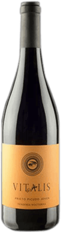 Envío gratis | Vino tinto Vitalis Joven D.O. León España Prieto Picudo Botella 75 cl