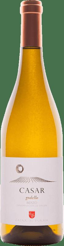Envio grátis | Vinho branco Casar de Burbia D.O. Bierzo Espanha Godello Garrafa 75 cl
