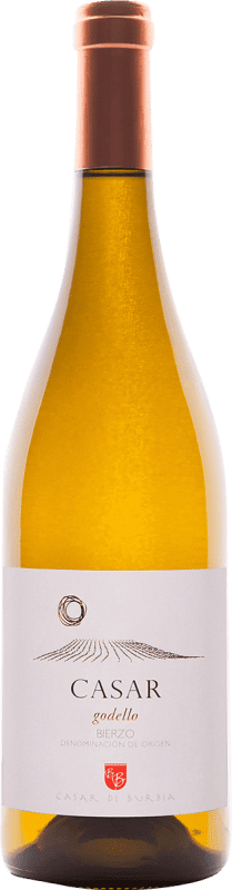 Envío gratis | Vino blanco Casar de Burbia D.O. Bierzo España Godello Botella 75 cl