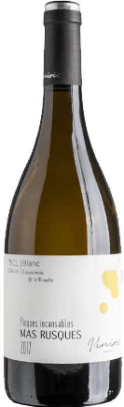 13,95 € | White wine Viníric Finques Incansables Mas Rusques Blanc Joven D.O. Empordà Catalonia Spain Malvasía, Grenache White, Macabeo, Parellada Bottle 75 cl