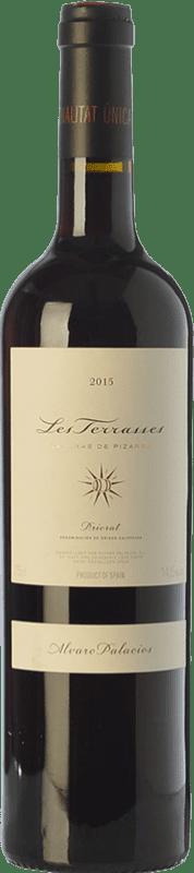 187,95 € Free Shipping | Red wine Álvaro Palacios Les Terrasses Laderas de Pizarra Crianza D.O.Ca. Priorat Catalonia Spain Syrah, Grenache, Cabernet Sauvignon, Carignan Jéroboam Bottle-Double Magnum 3 L