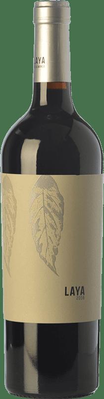16,95 € Envío gratis | Vino tinto Atalaya Laya D.O. Almansa Castilla la Mancha España Monastrell, Garnacha Tintorera Botella Mágnum 1,5 L