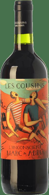 57,95 € 免费送货 | 红酒 Les Cousins L'Inconscient Crianza D.O.Ca. Priorat 加泰罗尼亚 西班牙 Merlot, Syrah, Grenache, Cabernet Sauvignon, Carignan 瓶子 Jéroboam-双Magnum 3 L