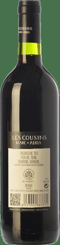 15,95 € Free Shipping   Red wine Les Cousins L'Inconscient Crianza D.O.Ca. Priorat Catalonia Spain Merlot, Syrah, Grenache, Cabernet Sauvignon, Carignan Jéroboam Bottle-Double Magnum 3 L