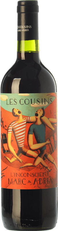 112,95 € 免费送货 | 红酒 Les Cousins L'Inconscient Crianza D.O.Ca. Priorat 加泰罗尼亚 西班牙 Merlot, Syrah, Grenache, Cabernet Sauvignon, Carignan 皇家瓶-Mathusalem 5 L