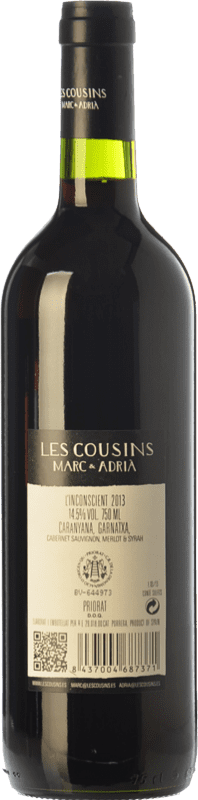 17,95 € Free Shipping   Red wine Les Cousins L'Inconscient Crianza D.O.Ca. Priorat Catalonia Spain Merlot, Syrah, Grenache, Cabernet Sauvignon, Carignan Imperial Bottle-Mathusalem 5 L