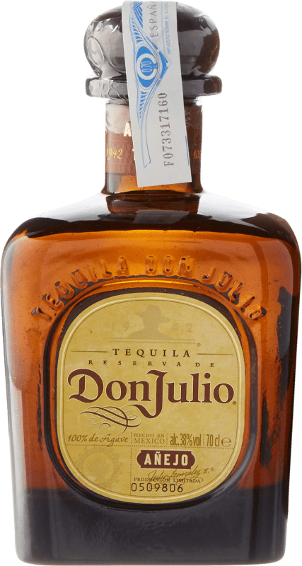 54,95 € Free Shipping | Tequila Don Julio Añejo Mexico Bottle 70 cl