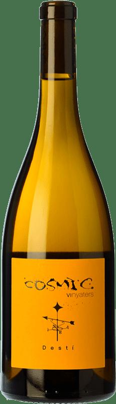 15,95 € Free Shipping | White wine Còsmic Destí Muscat Joven D.O. Catalunya Catalonia Spain Muscatel Bottle 75 cl