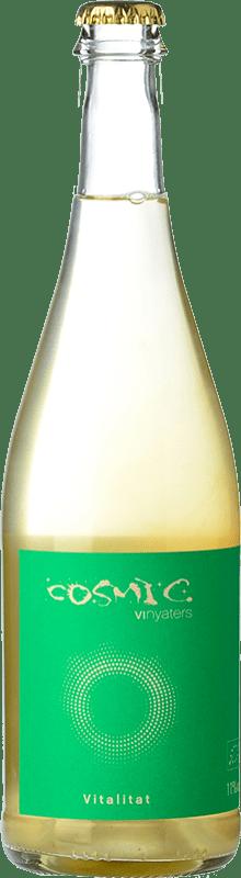 14,95 € Free Shipping | White sparkling Còsmic Vitalitat Petillant D.O. Catalunya Catalonia Spain Muscatel, Parellada Bottle 75 cl