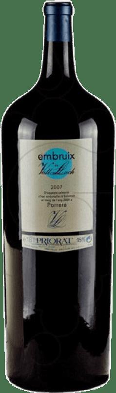 577,95 € Free Shipping | Red wine Vall Llach Embruix Crianza D.O.Ca. Priorat Catalonia Spain Merlot, Syrah, Grenache, Cabernet Sauvignon, Mazuelo, Carignan Botella Melchor 18 L