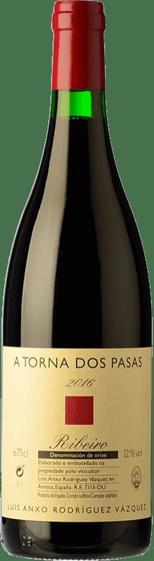 24,95 € Free Shipping   Red wine A Torna dos Pasas Crianza D.O. Ribeiro Galicia Spain Caíño Black, Brancellao Bottle 75 cl