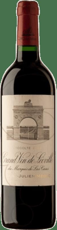 437,95 € Free Shipping | Red wine Château Léoville Las Cases 2009 A.O.C. Saint-Julien Bordeaux France Merlot, Cabernet Sauvignon, Cabernet Franc, Petit Verdot Bottle 75 cl