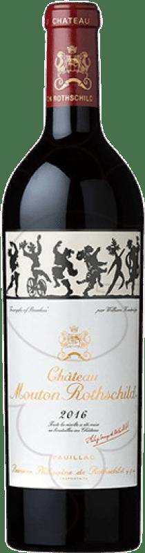 898,95 € Free Shipping | Red wine Château Mouton-Rothschild A.O.C. Pauillac Bordeaux France Merlot, Cabernet Sauvignon, Cabernet Franc, Petit Verdot Bottle 75 cl