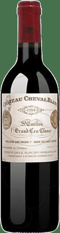 1 679,95 € Free Shipping | Red wine Château Cheval Blanc 2010 A.O.C. Saint-Émilion Bordeaux France Merlot, Cabernet Franc Bottle 75 cl