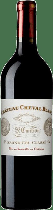 1 128,95 € Free Shipping | Red wine Château Cheval Blanc A.O.C. Saint-Émilion Bordeaux France Merlot, Cabernet Franc Bottle 75 cl