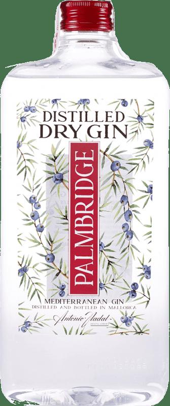 10,95 € Free Shipping   Gin Antonio Nadal Palmbridge Spain Petaca 1 L