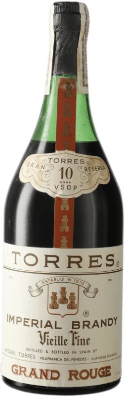 17,95 € Free Shipping | Brandy Torres 10 V.S.O.P. Very Superior Old Pale D.O. Penedès Catalonia Spain Bottle 72 cl