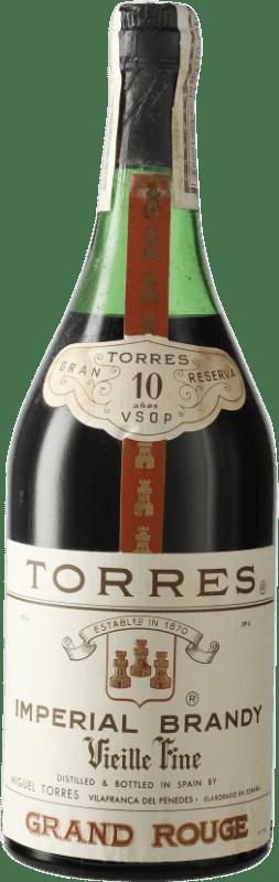 17,95 € Envío gratis | Brandy Torres 10 V.S.O.P. Very Superior Old Pale D.O. Penedès Cataluña España Botella 72 cl