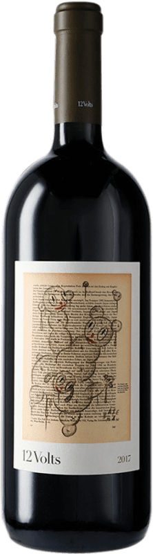 37,95 € 免费送货 | 红酒 4 Kilos 12 Volts I.G.P. Vi de la Terra de Mallorca 马略卡 西班牙 Merlot, Syrah, Cabernet Sauvignon, Callet, Fogoneu 瓶子 Magnum 1,5 L