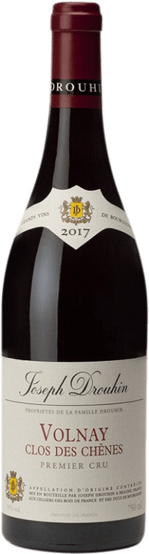 105,95 € Free Shipping | Red wine Drouhin 1er Cru Clos des Chênes A.O.C. Volnay Burgundy France Pinot Black Bottle 75 cl
