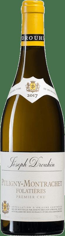 111,95 € | White wine Drouhin 1er Cru Folatières A.O.C. Puligny-Montrachet Burgundy France Chardonnay Bottle 75 cl