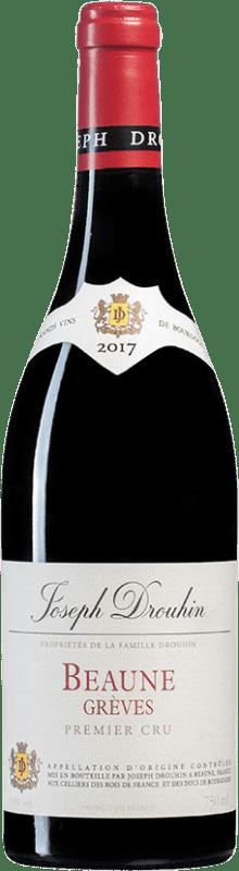 92,95 €   Red wine Drouhin 1er Cru Grèves A.O.C. Côte de Beaune Burgundy France Bottle 75 cl