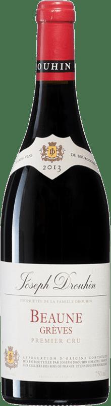 72,95 € | Red wine Drouhin 1er Cru Greves A.O.C. Côte de Beaune Burgundy France Chardonnay Bottle 75 cl