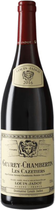 121,95 € | Red wine Louis Jadot 1er Cru Les Cazetiers A.O.C. Gevrey-Chambertin Burgundy France Pinot Black Bottle 75 cl