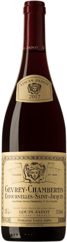 109,95 € | Red wine Louis Jadot 1er Cru Les Estournelles St. Jacques A.O.C. Gevrey-Chambertin Burgundy France Pinot Black Bottle 75 cl