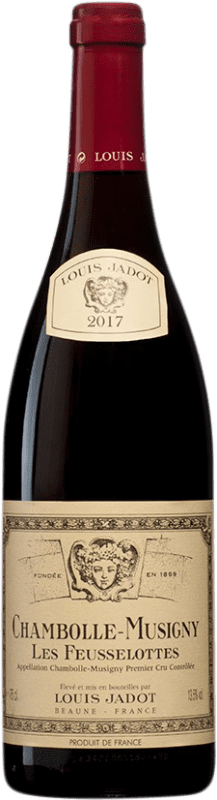 104,95 € | Red wine Louis Jadot 1er Cru Les Feusselottes A.O.C. Chambolle-Musigny Burgundy France Pinot Black Bottle 75 cl