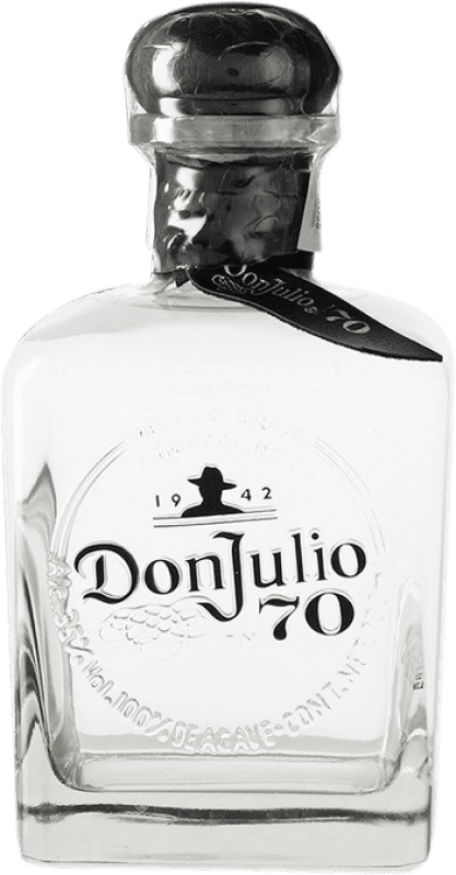 88,95 € Free Shipping | Tequila Don Julio 70 Cristalino Añejo Jalisco Mexico Bottle 70 cl