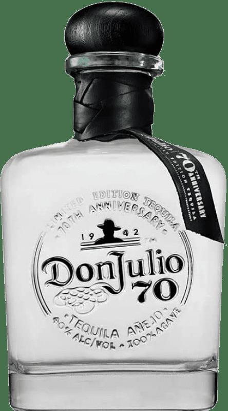 88,95 € Envoi gratuit | Tequila Don Julio 70 Cristalino Añejo Jalisco Mexique Bouteille 70 cl