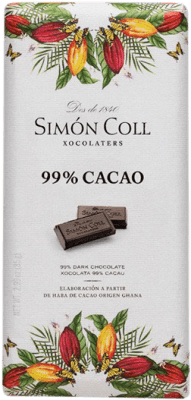 2,95 € Free Shipping | Chocolates y Bombones Simón Coll 99% Cacao Spain