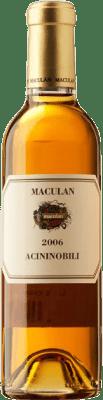 67,95 € | White wine Maculan Acininobili 2006 I.G.T. Veneto Veneto Italy Vespaiola Half Bottle 37 cl