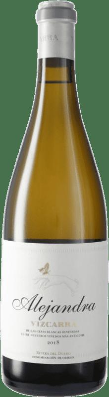 23,95 € Envío gratis | Vino blanco Vizcarra Alejandra D.O. Ribera del Duero Castilla y León España Botella 75 cl