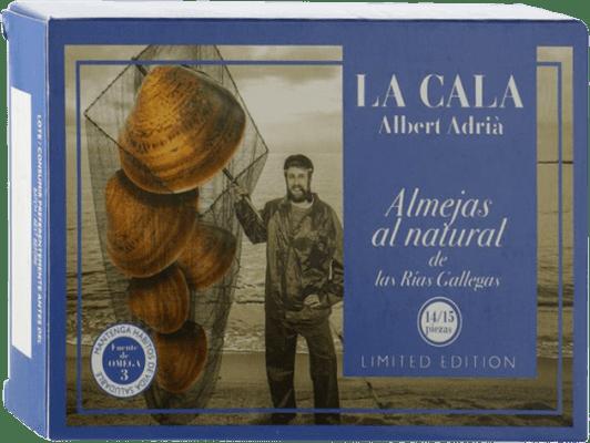 45,95 € Envoi gratuit | Conservas de Marisco La Cala Almeja Blanca al Natural Espagne 14/16 Pièces