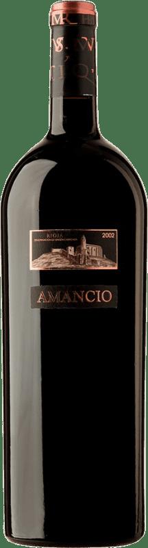 181,95 € | Red wine Sierra Cantabria Amancio 2002 D.O.Ca. Rioja Spain Tempranillo Magnum Bottle 1,5 L