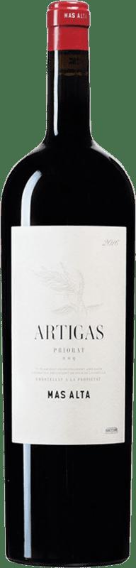 44,95 € 免费送货 | 红酒 Mas Alta Artigas D.O.Ca. Priorat 加泰罗尼亚 西班牙 Cabernet Sauvignon, Grenache Tintorera, Carignan 瓶子 Magnum 1,5 L