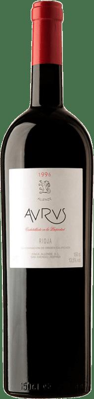 871,95 € Envoi gratuit | Vin rouge Allende Aurus 1996 D.O.Ca. Rioja Espagne Tempranillo, Graciano Bouteille Spéciale 5 L