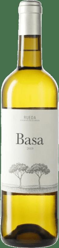 7,95 € Envío gratis | Vino blanco Telmo Rodríguez Basa D.O. Rueda Castilla y León España Verdejo Botella 75 cl