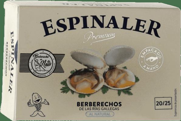 24,95 € | Conservas de Marisco Espinaler Berberechos Premium Spain 20/25 Pieces