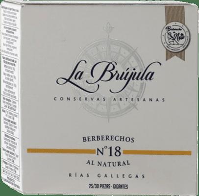 21,95 € | Conservas de Marisco La Brújula Berberechos Spain 25/30 Pieces