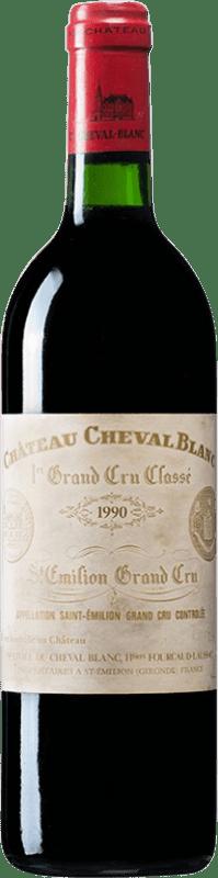 1 609,95 € | Red wine Château Cheval Blanc 1990 A.O.C. Bordeaux Bordeaux France Merlot, Cabernet Franc Bottle 75 cl