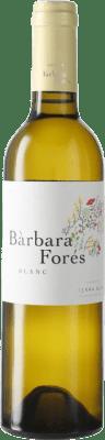 5,95 € Free Shipping | White wine Bàrbara Forés Blanc D.O. Terra Alta Spain Grenache White, Viognier Medium Bottle 50 cl