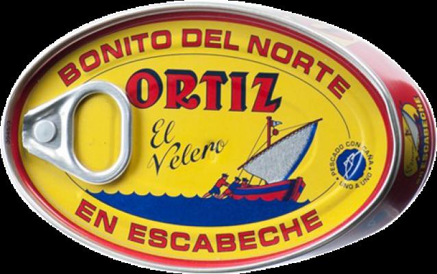 3,95 € 免费送货 | Conservas de Pescado Ortíz Bonito en Escabeche 西班牙