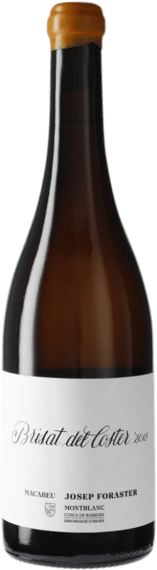 13,95 € Free Shipping | White wine Josep Foraster Brisat del Coster D.O. Conca de Barberà Catalonia Spain Macabeo Bottle 75 cl