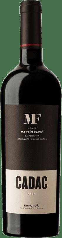 29,95 € 免费送货 | 红酒 Martín Faixó Cadac D.O. Empordà 加泰罗尼亚 西班牙 Grenache, Cabernet Sauvignon 瓶子 75 cl