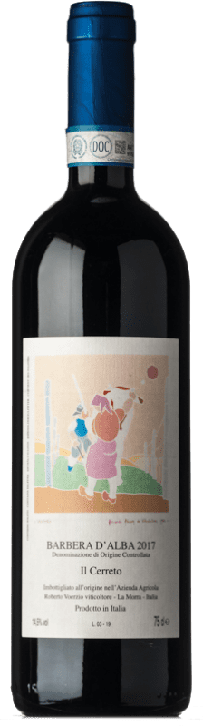 37,95 € Free Shipping | Red wine Roberto Voerzio Cerreto D.O.C. Barbera d'Alba Piemonte Italy Barbera Bottle 75 cl