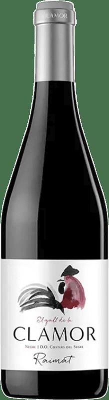 5,95 € Free Shipping | Red wine Raimat Clamor Roble D.O. Costers del Segre Spain Tempranillo, Merlot, Cabernet Sauvignon Bottle 75 cl